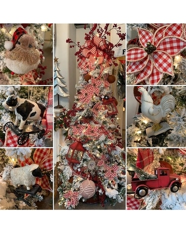 Urban Homestead Christmas Tree - In House ONLY Wreath