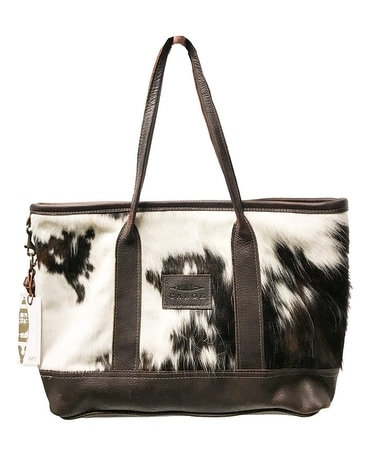 Canoe Cowhide & Leather Tote 002 Gifts