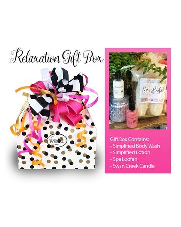 Relaxation Gift Box Gift Basket