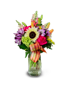 Bright & Colorful Mixed Arrangement Flower Arrangement