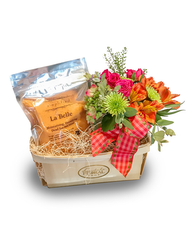 Bath Salt Bundle Set Flower Arrangement