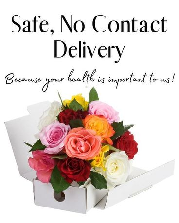 Send Flowers When You Can't Be There In Person Basket Arrangement