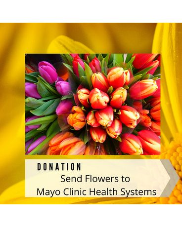 Donate Flowers to Mayo Clinic Flower Arrangement