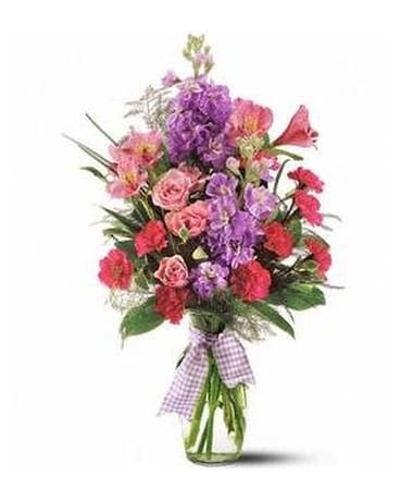 Teleflora's Fragrance Vase Custom product