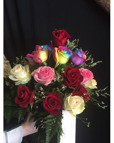 Dazzling romance Flower Arrangement