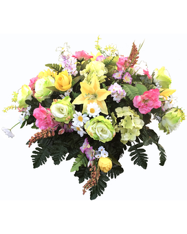 Spring Grave Topper Specialty Arrangement