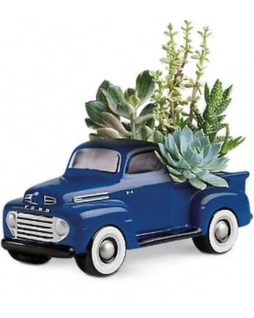 His Favorite Ford F1 Pickup by Teleflora Flower Arrangement