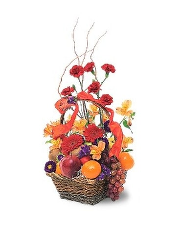 fruits and flowers basket in patchogue ny mayer s flower cottage rh mayersflowercottage com mayers flower cottage mayer s flower cottage