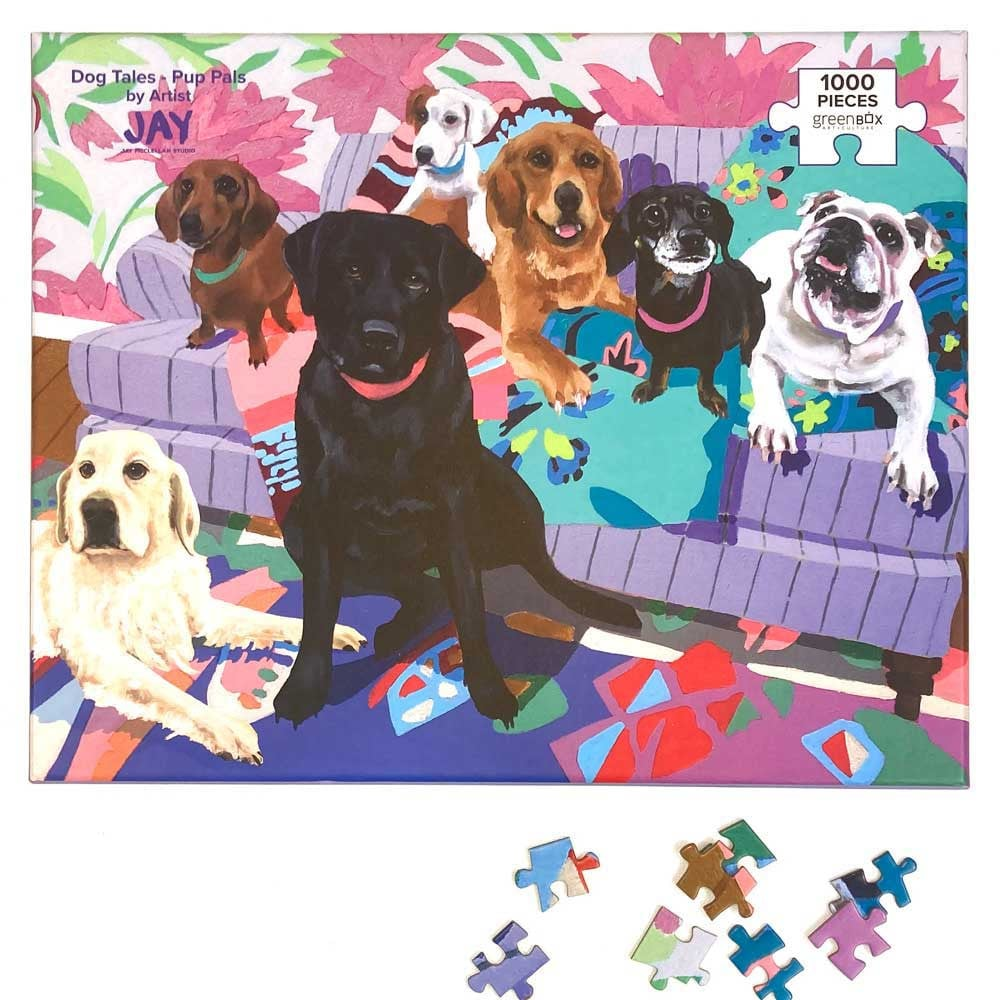 1000 Piece Puzzle - Dogs