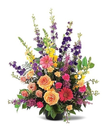 Most Memorable Tribute Spray Flower Arrangement