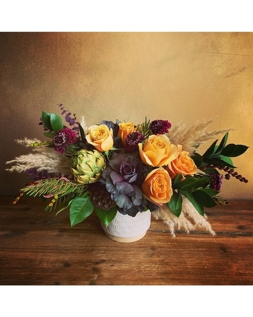 Tuscan Harvest (Krueger Exclusive) Flower Arrangement