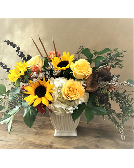 September Morning (Krueger Exclusive) Flower Arrangement
