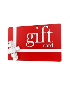 Gift Cards Available Gifts