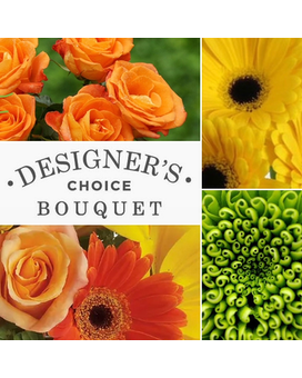 Fresh Citrus Bouquet - Designer's Choice Flower Arrangement
