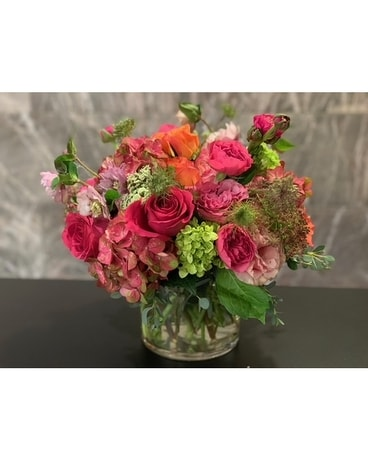 Tea Time Bouquet Flower Arrangement