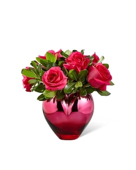 FTD Hold Me In Your Heart Rose Bouquet Flower Arrangement