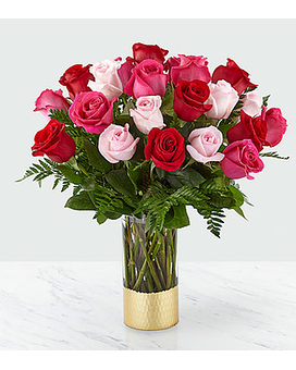 FTD Love & Roses Bouquet Flower Arrangement