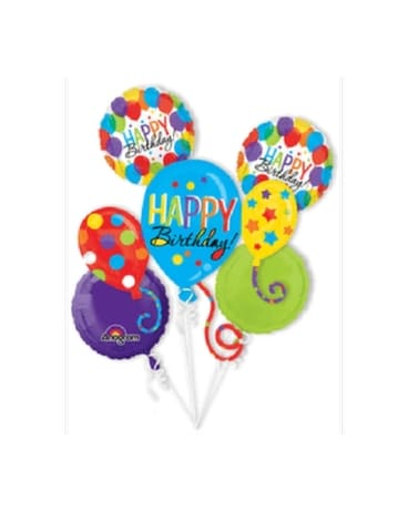 Birthday Bash Balloon Bouquet