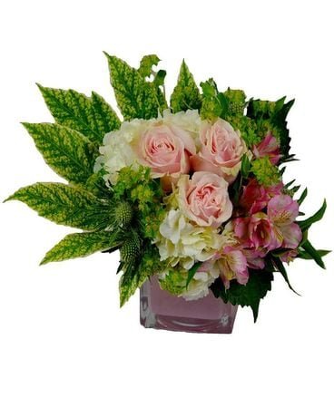 Sweet Baby Girl Flower Arrangement