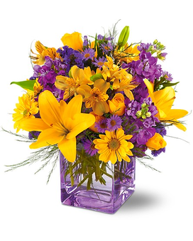 Morning Sunrise Flower Arrangement
