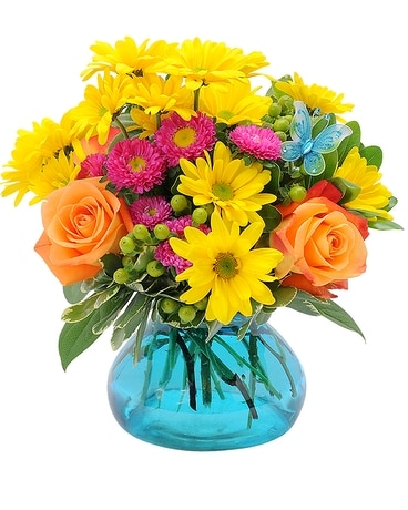 Woodbury - Woodbury Flutter Flower Arrangement