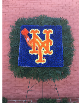 METS LOGO Flower Arrangement
