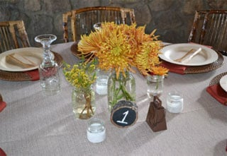 Simple Centerpiece Trio