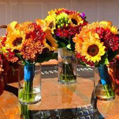 Hand-tied Sunflower Bouquets