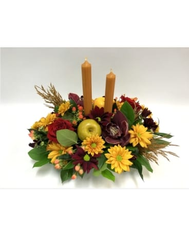 Butternut Glow Flower Arrangement