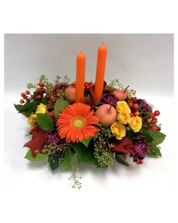 Orange Glow Flower Arrangement