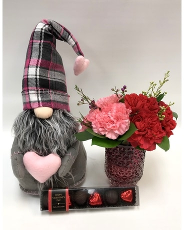 Gnomeo Package Flower Arrangement