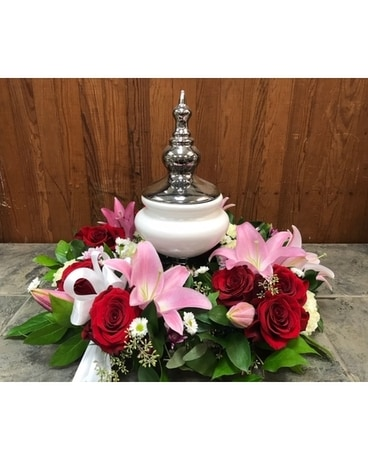 Urn Arrangement Flower Arrangement