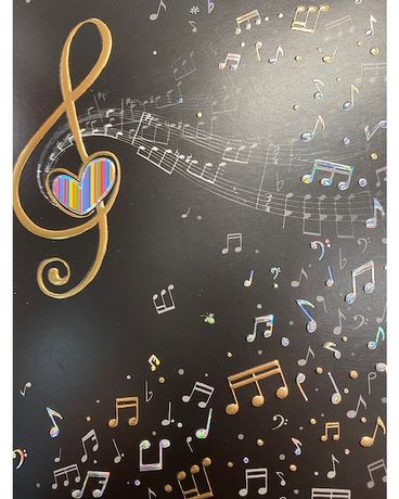 Bug Art Music Clef Gifts