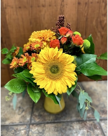 Sunflower Statement Flower Arrangement