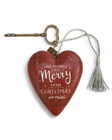 Merry Little Christmas Art Heart Gifts