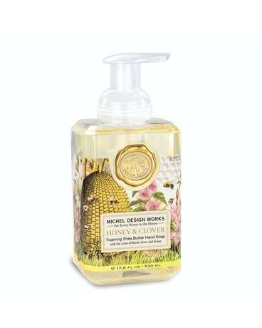 Honey & Clover Foaming Hand Soap Gifts