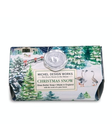 Christmas Snow Large Bar Soap Gifts
