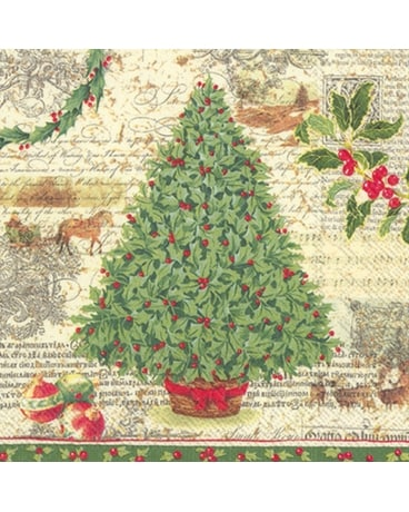 Christmas Tradition Luncheon Napkin Gifts