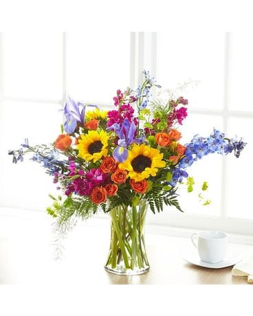 A Fathers Garden Flower Arrangement