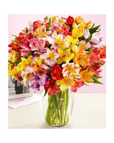 Alstromeria Bouquet Flower Arrangement