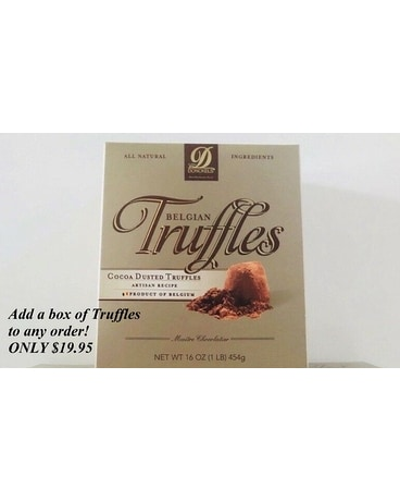 Add a Box of Truffles to your order