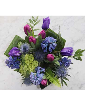 Lavender Wish Flower Arrangement