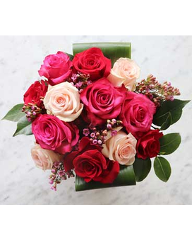 Rose and Rose Flower Arrangement