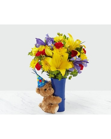 The Big Hug Birthday Bouquet Flower Arrangement