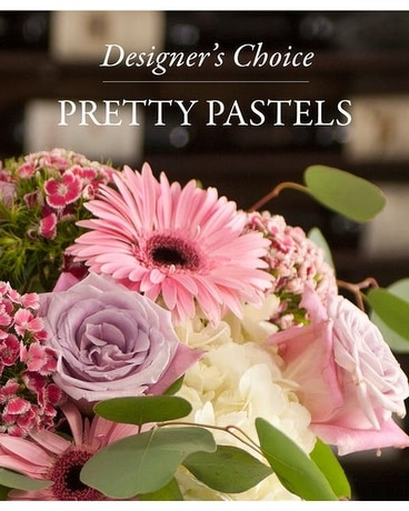 Designer's Choice Pretty Pastels Flower Arrangement