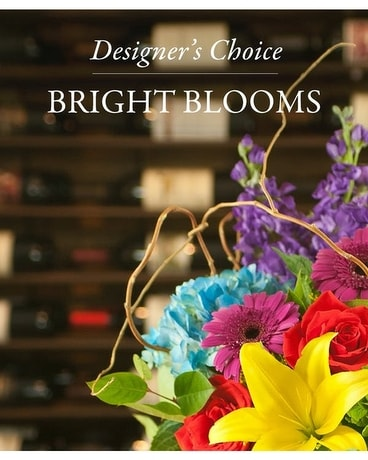 Designer's Choice Brilliantly Bold Flower Arrangement