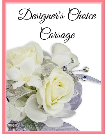 Designer's Choice Corsage Flower Arrangement
