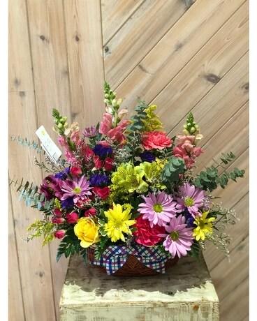 Merrick florist flower delivery by merrick flower shoppe fruiterers farm to table flower arrangement negle Choice Image