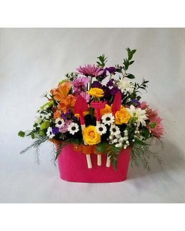 Garden Therapy Flower Arrangement