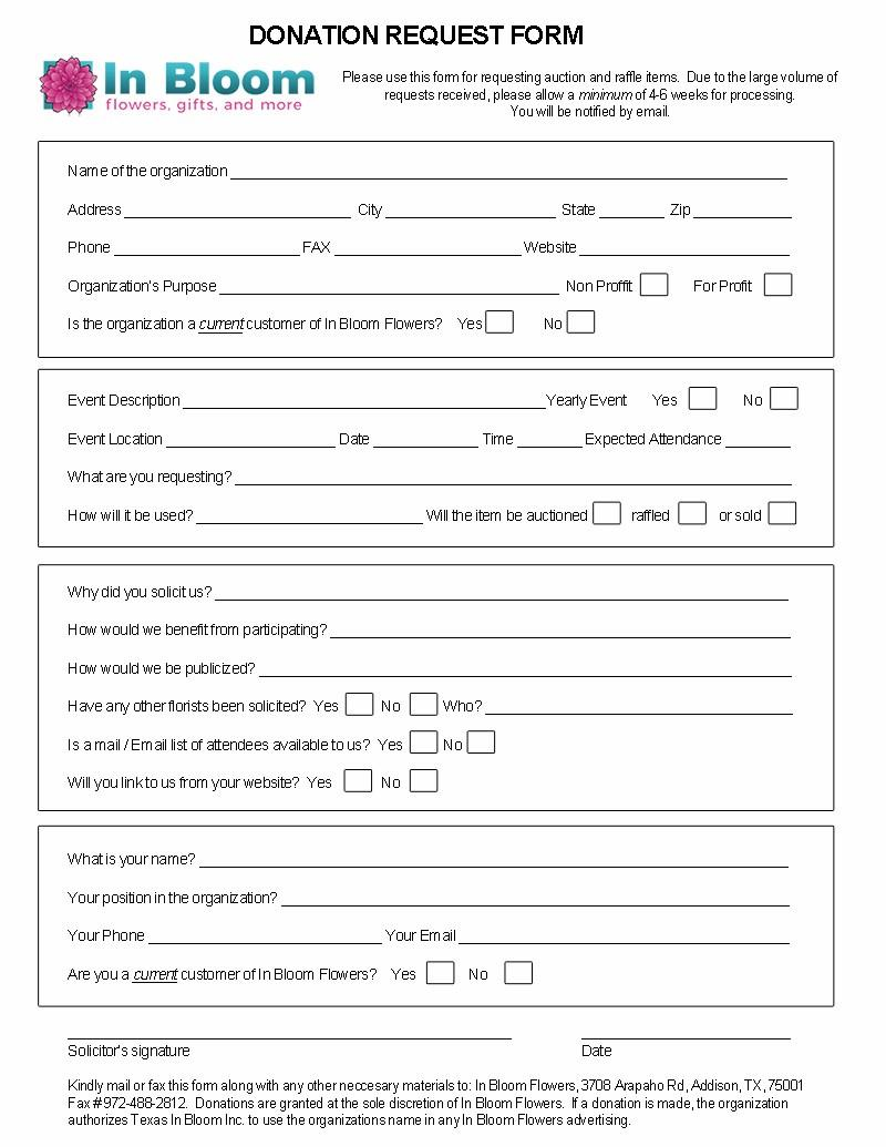 Donation request for Form 2159